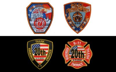 Pacific Emblem Co. Sells 9/11 20th-Anniversary Patches, Raises Money for First Responders