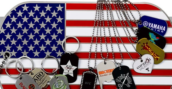 custom dog tags bottle openers